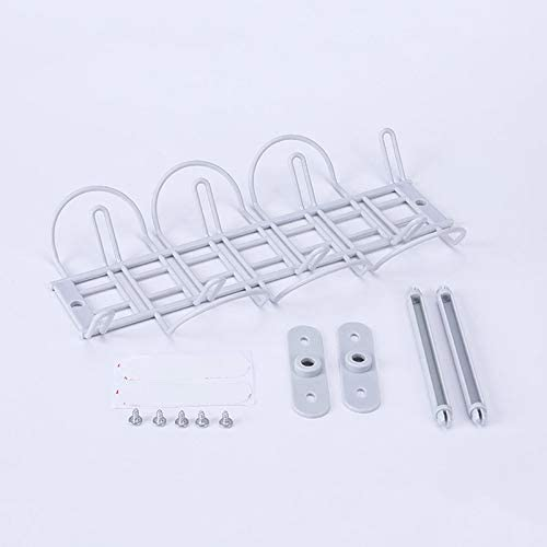 Under Desk Cable Management Tray Organizer for Wire Cord Power Charger Plugs Domeilleur Cable Trays cable organizer