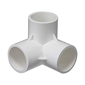 Attacchi per mobili, in PVC, per irrigazione domestica, 40 mm, 50 mm, raccordi a T, 20 mm, 25 mm, 32 mm, per fai da te… 1 spesavip