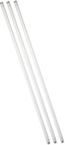 Eiko 15521-3 F15T8/CW Straight T8 Cool Fluorescent Tube Light Bulb, 18