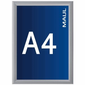 Maul Klapprahmen standard A4 33,0x24,3x1,2 cm Aluminium
