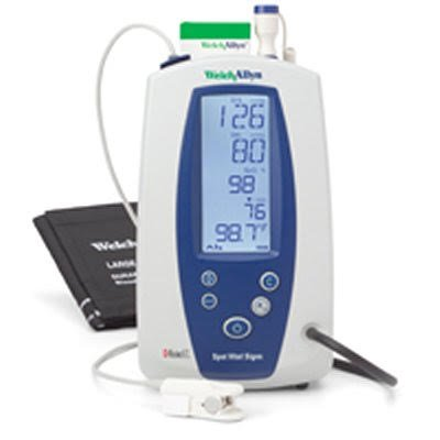 Spot Welch Vital Signs Allyn (Welch Allyn 42NTB-E1 Spot Vital Signs with NIBP, Nellcor SPO2 and SureTemp Thermometer)