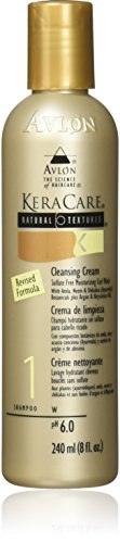 Avlon Keracare Natural Textures Cleansing Cream, 8 Ounce