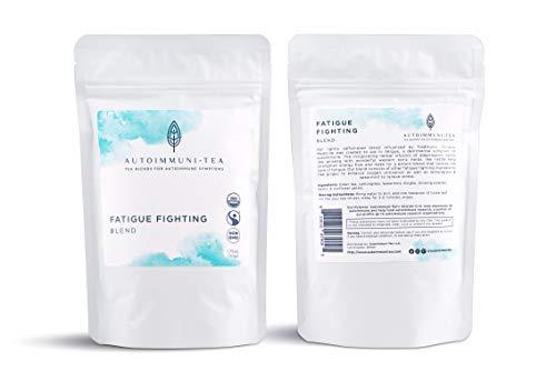 Autoimmune Tea Fatigue Fighting Blend: Autoimmune Protocol blend for Autoimmune solution in adrenal fatigue; autoimmune paleo and AIP diet tea for autoimmunity