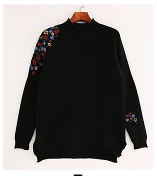 BAJIAN ニットレディース セーター チュニック 体型カバー シンプル セーター ショート丈 ファッション