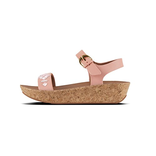 Pink para Sandalia Strap II Pulsera Mujer Rosa Fit 535 Sandals Bon TM Dusky Flop con Back xqTwnv6f0