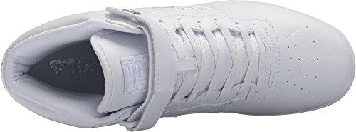 Fila Herren Vulc 13 Mid Plus 2 Wanderschuh Weiß, Metallic Silber, Weiß