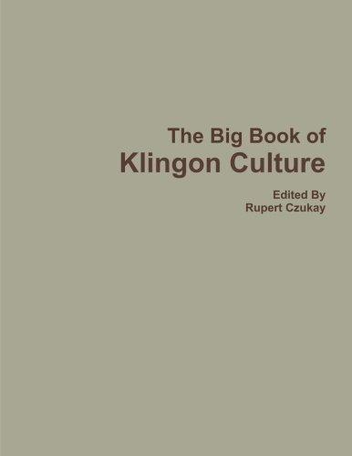 The Big Book of Klingon Culture ()