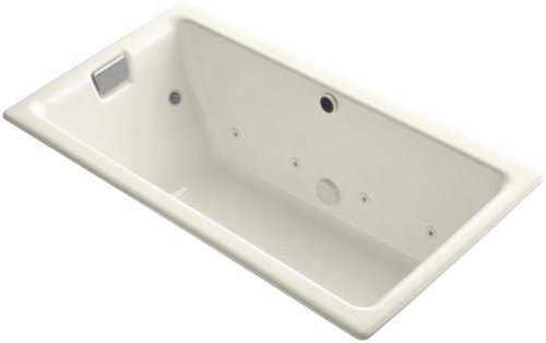 Kohler K-856-CT-96 Tea-For-Two 5.5Ft Whirlpool with Relax Experience, ()