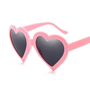 GGSSYY Love Heart Gafas de Sol Mujeres Eye Vintage Gift ...
