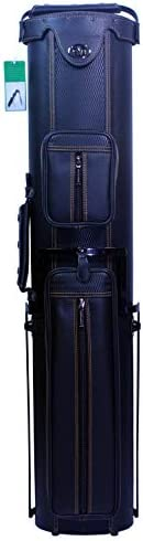 ASKA Hard Pool Cue Case Holds Up to 3 Butts and 5 Shafts Choice of Style 3x5