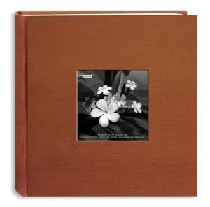 Pioneer 4x6 Silk Frame Bi-Directional Photo Album (Assorted Colors)