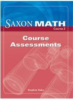 Saxon Math, Course 2: Course Assessments