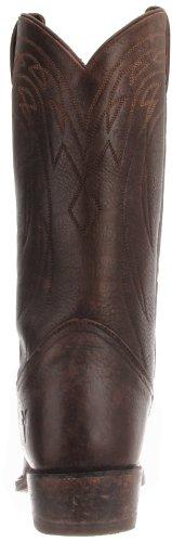 FRYE - Botas de cuero para hombre Dark Brown - 87702
