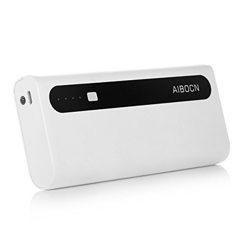 Aibocn Power Bank 10,000mAh External Battery Charger with Backup Flashlight - - Ban Power
