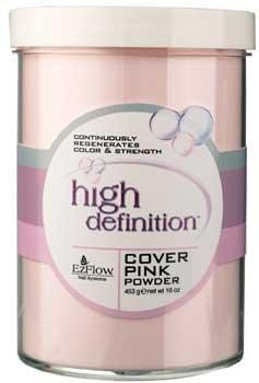 EZFLOW HD COVER PINK POWDER - 16OZ - Ezflow Hd Powder