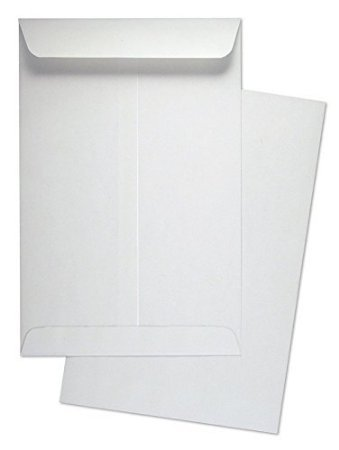 6'' x 9'' Catalog Envelope (Open End) White Wove 500 Count- MCT695NW