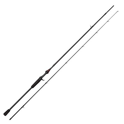 ABU-GARCIA-Unisexs-Vendetta-Jerk-Rod-2-Piece-Black-63-ft60-100-g