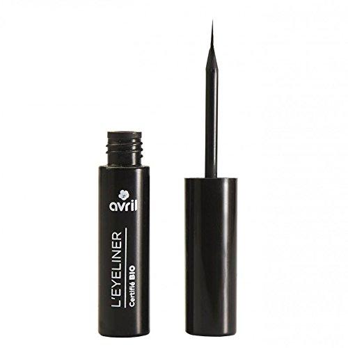 Avril Natural Organic EcoCert Black Liquid Eyeliner 3.5ml