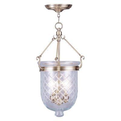 Amazon.com: Livex Lighting 5074-91 Jefferson - Lámpara ...
