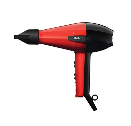 Elchim Classic 2001 Blow Dryer: Professional Salon Ceramic Hair Dryer, 1875 Watt | Concentrator Included | Fast Drying, Quiet, and Lightweight | 4 Colors