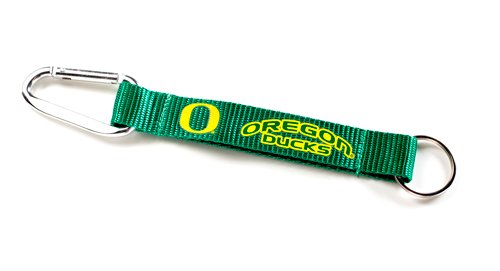 NCAA Oregon Ducks Carabiner Lanyard Keyring]()