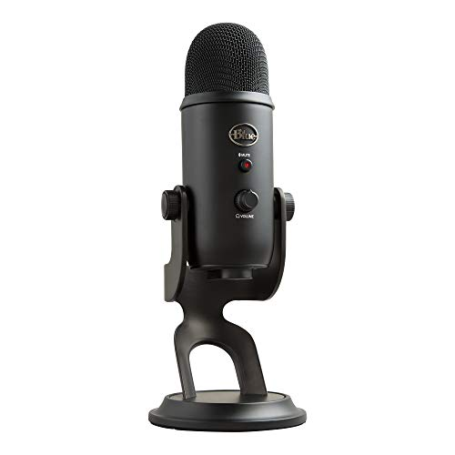 BLUE Condenser Microphone, Blackout, Mic Only (988-000100) from Blue