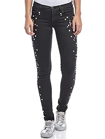 Juicy Couture Black Skinny Jeans Pant For Women