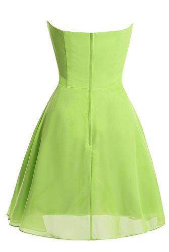 Strapless Empire Short Blue Homecoming Dasior Dress Dress Bridesmaid Sky TAdcaaxnq1