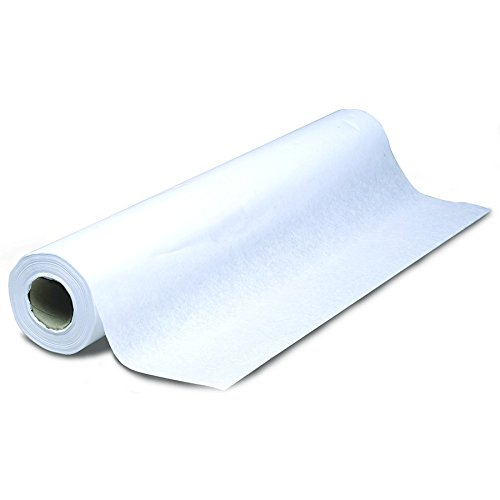 AMMEX - CTP14S - Moisture Resistant Changing Table Paper, 14 x 225' Roll (Case of 12 Rolls) by Ammex
