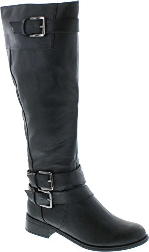 Cheap Leather Riding Boots - 7