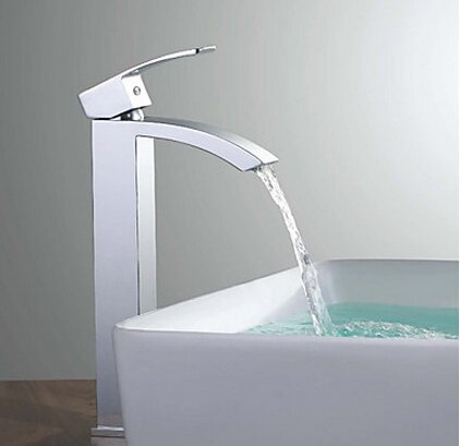 waterfall faucet and bowl - 6