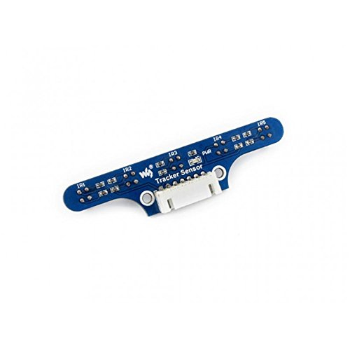 - Tracking Module/Tracker Sensor, Infrared Line Tracking for Robot / 5-ch ITR20001/T Infrared Detector