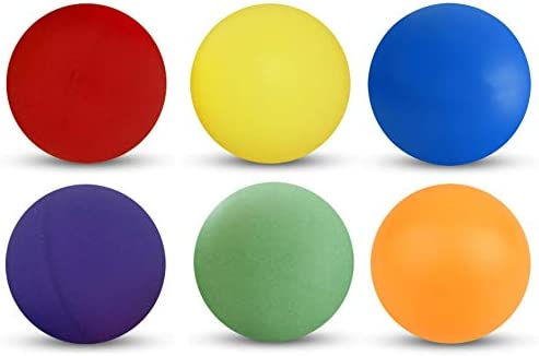 Tiger Tail Sports Recreational-Quality Ping Pong Balls 1-Star, 40mm