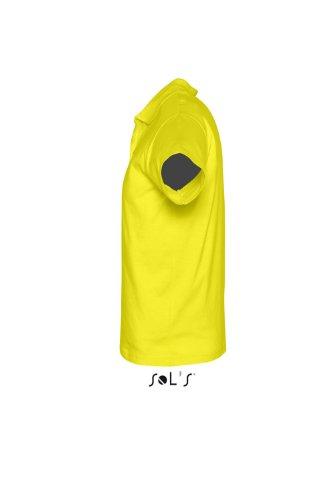SOL´S Men Polo Shirt Prescott, Farbe:Lemon, Größe:XXL