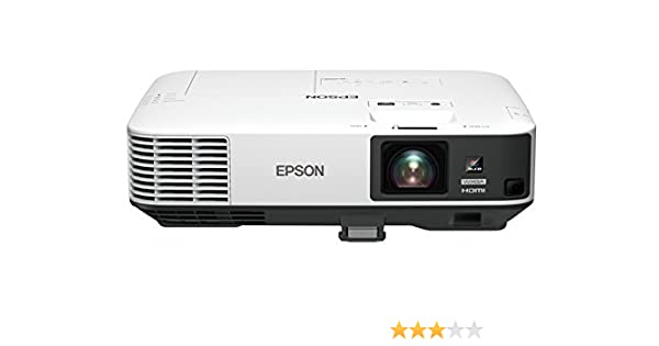 Epson EB-2155W Video - Proyector (5000 lúmenes ANSI, 3LCD, WXGA ...