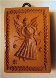Angel Playing Trumpet springerle cookie mold by Anis-Paradies