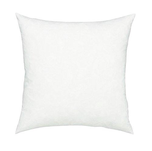 Fennco Styles Polyester Fiber White Pillow