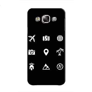 Cover It Up - Life Modes Galaxy E7 Hard Case