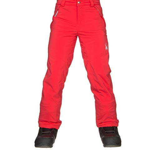 Spyder Olympia Tailored Girls Ski Pants - 12/Hibiscus-Hibiscus