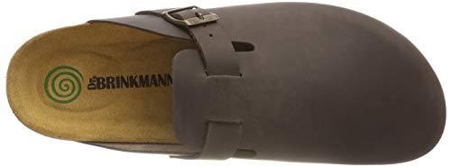 brinkmann Dr Clogs 600389 1 amp; Hombres Mules Braun aUxHqrwZUd