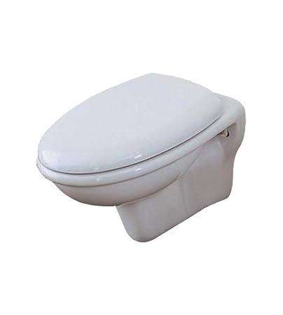 Azzurra Ceramica Sanitari Spa.Sanitari Bagno Vaso Wc Water Sospeso Con Coprivaso Termoindurente
