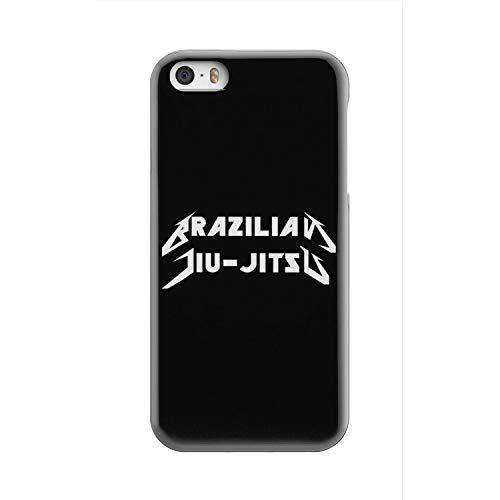 Superhero Gear Brazilian Jiu-Jitsu Metal BJJ Phone Case (iPhone 5S)