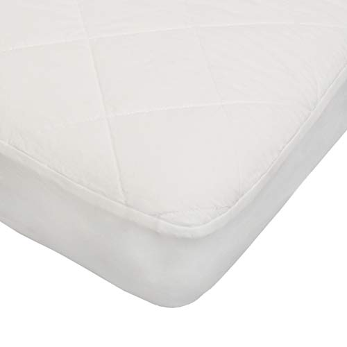Organic, Waterproof Baby Crib Mattress Protector Pad. Polyester and Vinyl Free. Quilted, Breathable. Responsibly-Made with 100% GOTS-Certified Cotton. by Sonsi.