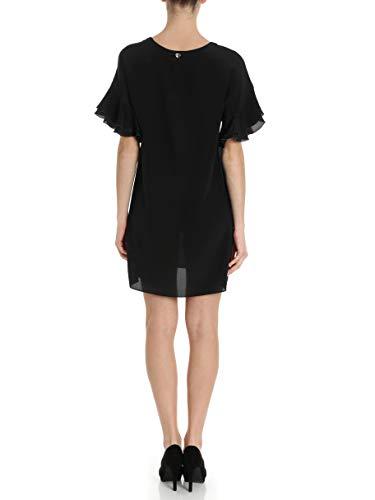 Viscose Femme Noir Ts827d00006 Robe set Twin BIxq5wUx