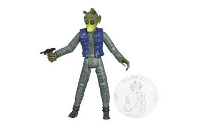 MDstore Star Wars 30th Anniversary PAX BONKIK (Greedo) Action Figure with Coin #54 ()