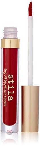 stila Stay All Day Liquid Lipstick, Fiery (Deep Red) (Best Deep Red Liquid Lipstick)