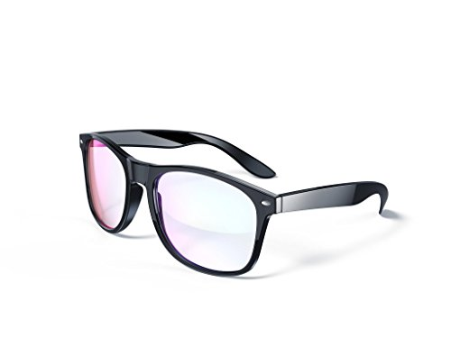 Blue Light Blocking Glasses - Gamer Glasses, LCD/LED Screen and Computer Eyewear Anti-Reflective for Deep Sleep and Helps Prevent Eye Strain & - Screen Computer Sunglasses