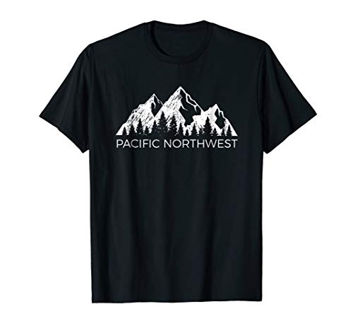 Pacific Northwest Shirt | Cool Mountain PNW Tee Men Women