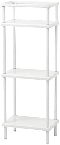 IKEA/イケア DYNAN シュルフユニット40x27x108 cm ホワイト 80318170