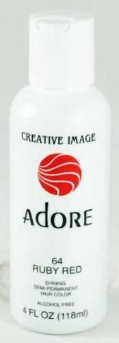 (Adore Creative Image Hair Color #64 Ruby Red by)
